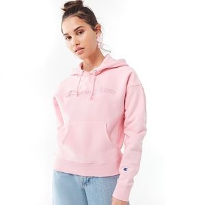 Urban Outfitters x Champion  Daisy Logo Hoodie
